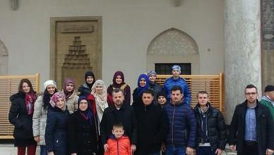 Posjeta džamije Malezija