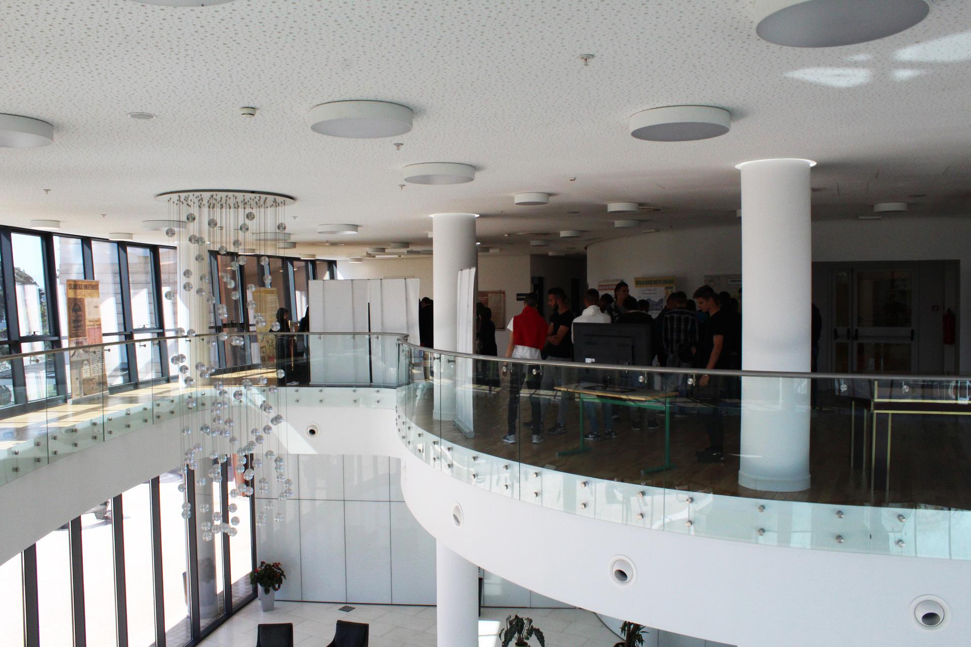 Dio prelijepo prostora u unutrašnjosti elitnog objekta The Capital Plaza.