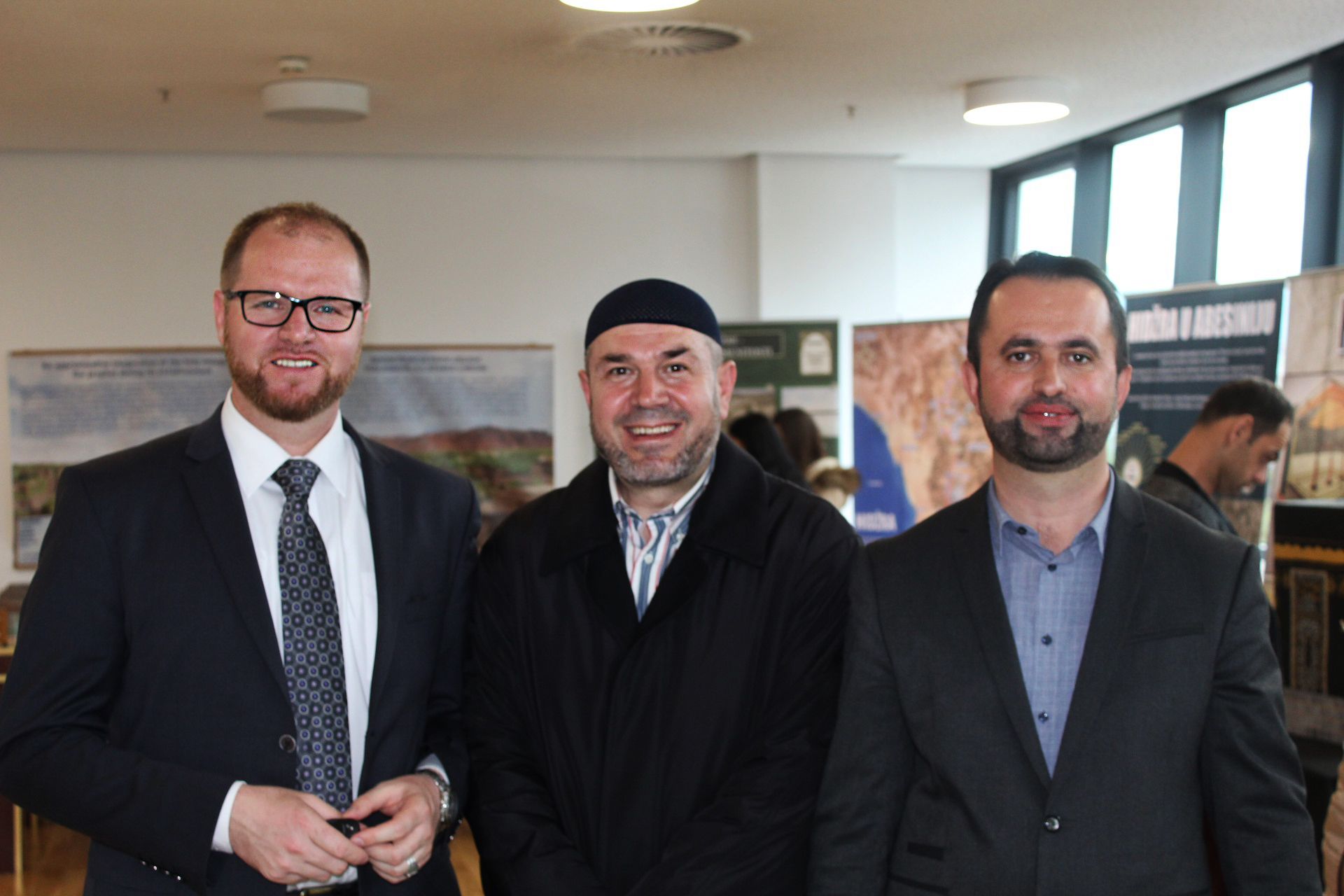 Na veliko iznenađenje naše ekipe, ali u posjetu nam je došao i poznati i cijenjeni imam iz Bosne i Hercegovine mr. Aljo Cikotić.